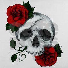 Trash Polka, Rose Vine Tattoos, Hand Tattoos, Forearm Tattoos, Tatoos, Tattoos For Women Half Sleeve, Gothic Tattoo, Rose Vines, Skulls And Roses