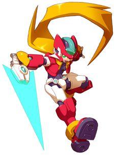 Vent - Biometal Model ZX - Characters & Art - Mega Man ZX Advent