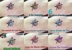 Avengers tattoos film comics comic books comic book movies Marvel comics - Welcome! Marvel Avengers, Marvel Comics, Marvel Girls, Ms Marvel, Marvel Memes, Avengers Symbols, Avengers Cast, Avengers Movies, Marvel Tattoos