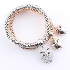 Black FridayDeals @JeremiahImports.com  New Fashion Brace...  http://www.jeremiahimports.com/products/2016-new-fashion-bracelet-bangles-jewelry-gold-silver-chain-bracelet-hollow-owl-charms-bracelets-for-women-jjal-b336?utm_campaign=social_autopilot&utm_source=pin&utm_medium=pin