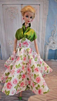 OOAK Silkstone Vintage Barbie Handmade Fashion Royalty Poppy Parker  by Mary   #Unbranded