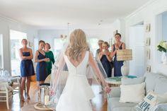Photography: Ned Jackson Photography - nedjackson.com  Read More: http://www.stylemepretty.com/2015/06/01/classic-nautical-cape-cod-wedding/