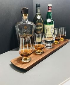 Sale! Whisky Whiskey Bourbon Scotch Tasting Flight. Solid Walnut  Glencairn Pitcher & 4 Glasses Serving Tray. Personalize with laser engraving! #whiskyflight #mancave #scotch #bar #barowner #giftsforhim #giftideas #gift  #glencairn #gifts #homebar #etsy #forhimgift #whiskygram #whiskytasting #giftforman #whiskylife #whisky #whiskey #whiskybar #bourbon #whiskylover #anniversarygift #glenfiddich #glenlivet #giftforman #spirits #retirementgift  #scotchlife #scotchwhisky #giftforhusband…