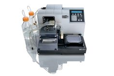 The EL406™ combines fast, full microplate washing along with three reagent dispensers in one compact unit saving valuable bench space and reducing the expense and maintenance of multiple dedicated instruments. Applications include ELISA, MSD automation, high content screening immunocytochemistry and magnetic bead assay automation for gene- and protein-expression.