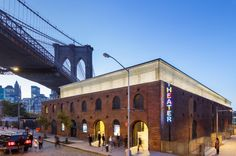 St. Ann's Warehouse | Architect Magazine | Marvel Architects, Brooklyn, NY, USA, Community, Cultural, Education, Entertainment, Office, Other, Adaptive Reuse, Interiors, New Construction, Preservation/Restoration, VISTABRIK, Acoustic Ceiling Deck , Exterior Doors , Blackout Shades