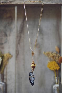 Triple Arrowhead Necklace by BrianneCossette on Etsy, $80.00