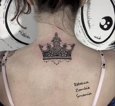 Little lace crown by Rebecca Zombie Smania.