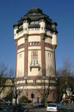 #Mönchengladbach (Germany), Water tower