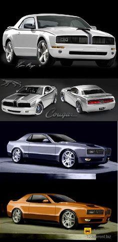 Cougar concept car - 5 PHOTO!