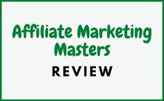 Welcome to my Affiliate Marketing Masters review. Created by Ryan Hildreth and Tanner J. Fox, this course is dedicated to showing you how to market other people's products and services in return for commissions. They show everything from choosing your niche to building your site and making money. But you can never be sure these days and you can't help but wonder, is Affiliate Marketing Masters a scam or legitimate course for getting started with affiliate marketing?