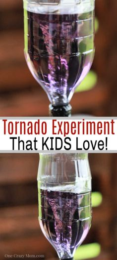 Learn how to make a tornado in a bottle for a fun experiment. This is the perfect activity to keep the kids entertained while being easy and frugal. Entertainment How to make a tornado in a bottle - Fun and Easy Tornado Experiment Tornado In A Bottle, Tornado In A Jar, One Punch Man, Tornado Craft, How To Make Floam, Homemade Silly Putty, Fun Places For Kids, Rainy Day Activities, Amigurumi