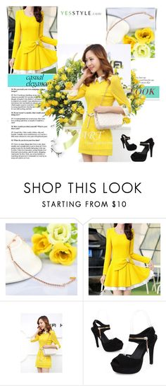 """""""yesstyle contest spring"""" by rosee-dlxix ❤ liked on Polyvore featuring Zundiao, Romantica, Sienne, Sidewalk, DENY Designs, Spring, springfashion and yesstyle"""