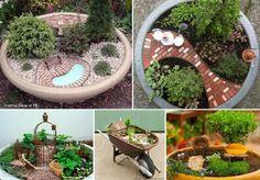 Si cuentas con poco espacio para crear un jardín, esta es una genial idea para