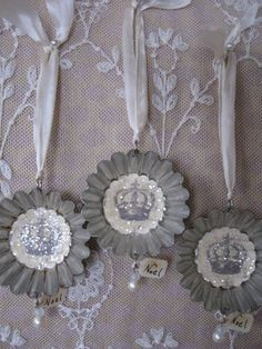 French Crowns Vintage by PetiteMichelleLouise