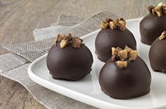 Toffee Cookie Balls Recipe  Think Oreo Cookie Ball but better!