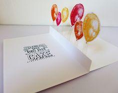 Stampin Up, Balloon Builders, Geburtstagskarte / Birthday Card