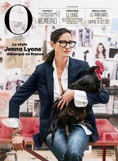 Phenomenale Manda » Jenna Lyons, la revanche d'une moche