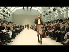Burberry | Fall Winter 2012/2013 by Christopher Bailey |  Full Fashion Show Part 1 in Excellent Quality. (Widescreen - Exclusive Video)