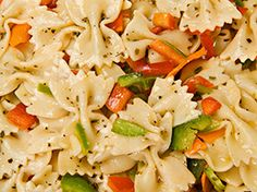 Dialysis Friendly Bowtie Pasta Salad