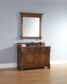 """Brookfield 48"""" Single Cabinet Bathroom Vanity Set   Wayfair"""