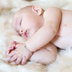 joyas personalizadas para bebes esclava bebe, esclava plata Entrega en 24 horas www.elreciennacido.com