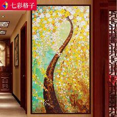 黃金滿地生意興隆鑽石畫發財樹十字繡花草系列大幅滿鑽貼客廳方鑽-淘寶網