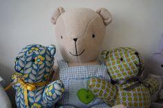 "Lovely teddy bears by ""galya"""