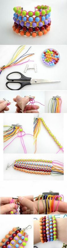 DIY Beads Bracelet