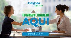 Más de 800.000 personas encontraron trabajo en 2015 gracias a InfoJobs, portal líder de ofertas de empleo en España. Busca trabajo desde tu móvil y recibe ofertas en tu e-mail.