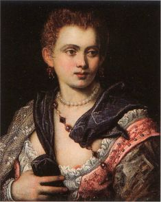 Veronica Franco by Tintoretto 1575