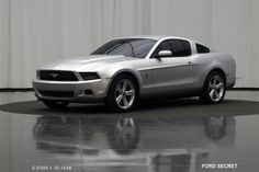 OG | 2009 Ford Mustang Mk5 | Full-size clay model dated March 2006