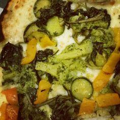 Veggie pizza.... Tasting
