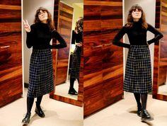 svart polo rutig kjol | wilderness | Bloglovin'