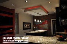Schon Wonderful Modern Ceiling Design For Kitchen Top Catalog Of Kitchen Ceiling  Designs Ideasgypsum False Ceiling