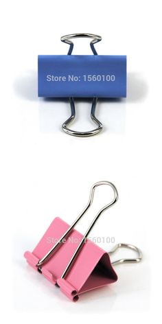 Free Shipping (40pcs/set)19mm Metal Binder Clips Colorful Paper Clips  Ticket Clip