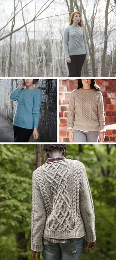 Best fisherman sweater patterns