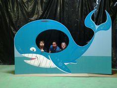 Jonah & the Whale Cardboard Cutout Standup Prop - Dino Rentos Studios, INC.