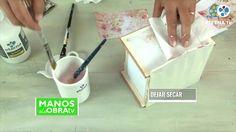 Alhajero Vintage   Liliana Ziliotto en Manos a la Obra Toothbrush Holder, Liliana, Youtube, Manualidades, Paintings, Youtubers, Youtube Movies