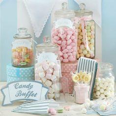 Candy Bar Süßigkeiten Set für Hochzeit oder Party - 3 Kellen, 25 Tüten, 1 Schild, 4 Etiketten von Ginger Ray, http://www.amazon.de/dp/B008ROUIS0/ref=cm_sw_r_pi_dp_zus1sb1N8EDGY