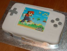 Super Mario birthday cake. Photo by Flickr/leunix