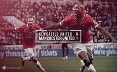 Newcastle United 0 - 1 Manchester United, 4 March Designed by United. Ashley Young, Official Manchester United Website, Live Matches, Match Highlights, Barclay Premier League, Newcastle, How To Become, Football, Baseball Cards