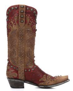 Old Gringo Women's Raelene Boot - Red/Oryx