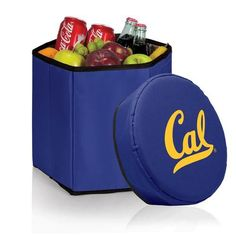 Cal Berkeley Golden Bears Collapsible Cooler Durable 12 Quart Cooler
