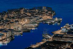 Blue hour Bergen by Rune Hansen on Blue Hour, Bergen, Luxury Travel, Norway, The Good Place, City Photo, The Neighbourhood, Around The Worlds, River