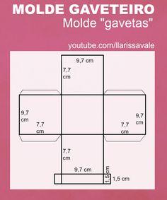 DIY Gaveteiro https://youtu.be/1SsjbRasDSc Larissa Vale