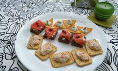 Jednohubky nechybí na žádném silvestrovském stole Krabi, Jamie Oliver, Bruschetta, Ethnic Recipes, Food, Essen, Meals, Yemek, Eten