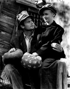 Joel McCrea and Veronica Lake - SULLIVAN'S TRAVELS