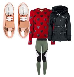 """""""Untitled #964"""" by bellagioia ❤ liked on Polyvore featuring Charli Cohen, Burberry and Acne Studios"""