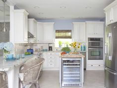 30 Bright and White Kitchens : Kitchen Remodeling : HGTV Remodels
