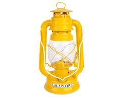 This sunny yellow lantern will light up your summer nights and maybe attract a few fireflies. It's 10 inches tall and comes in a variety of colors. | Hurricane lantern by Sunnylife | sunnylife.com